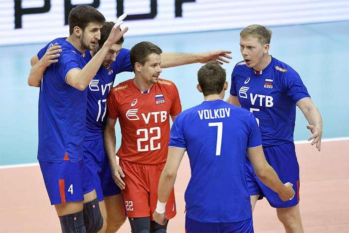 Мужская сборная. ЧЕ-2017 в Польше. Четвертьфинал. Россия – Словения – 3:0.