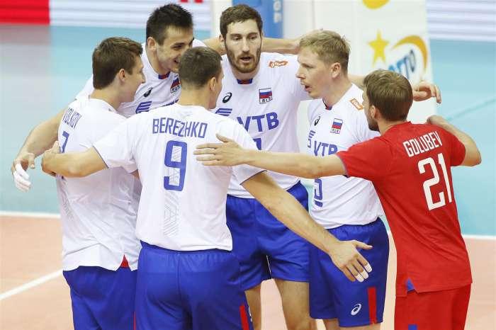 Волейболисты сборной России вышли в финал чемпионата Европы