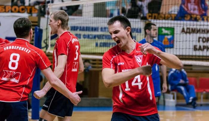 Полуфинал чемпионата России по волейболу среди мужских команд высшей лиги «Б» (Фото)