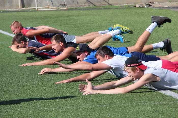 Волейболисты барнаульского «Университета» вышли из отпуска