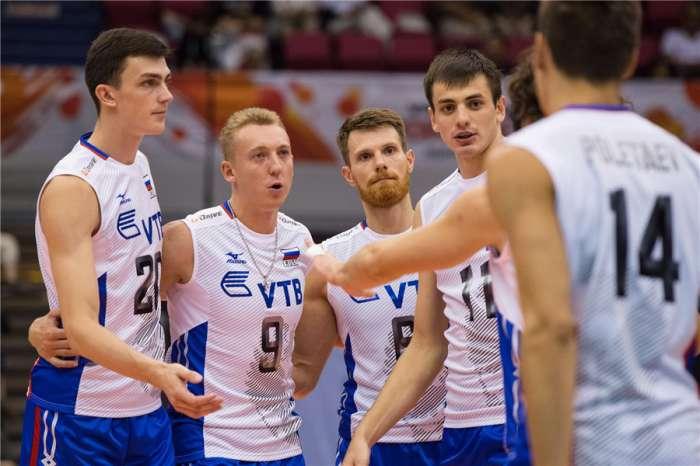 Россия обыграла Тунис на Кубке мира по волейболу